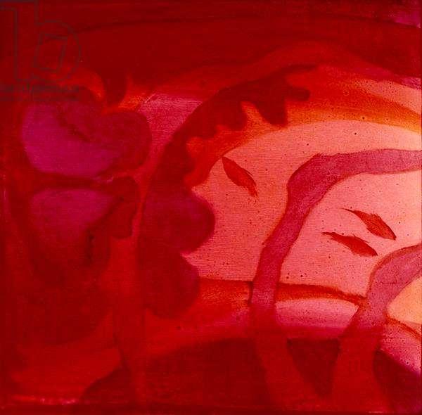 Capricornus Pink, 2000 (oil on gesso)