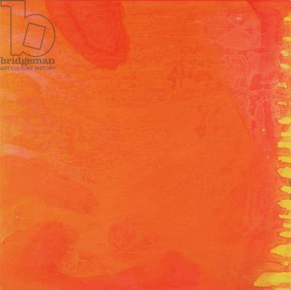 Rabbit Orange, 1997 (oil and glaze on gesso board)