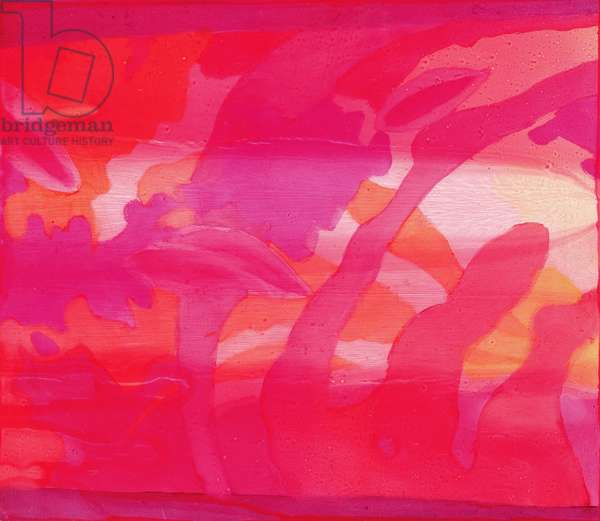 Mascarene, 2000 (oil on gesso)