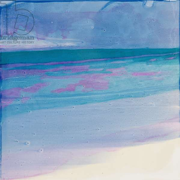 Turtle Beach, 2000 (oil on gesso)