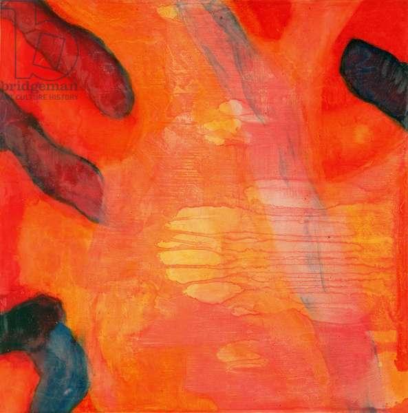 Clown Fish II, 1997 (oil and glaze on gesso board)