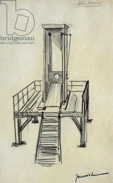 Guillotine (pencil on paper)