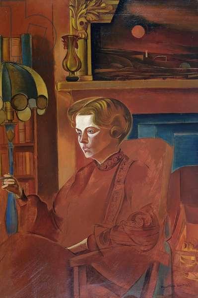 Red Portrait, 1937
