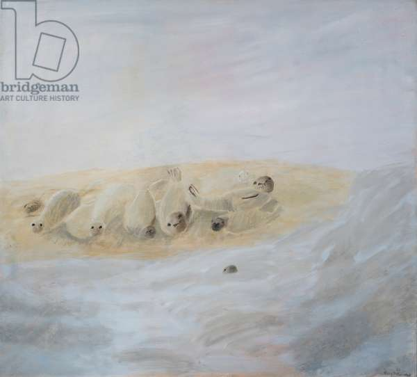 An Outing to See the Seals, Blakeley, 1994 (oil on canvas)