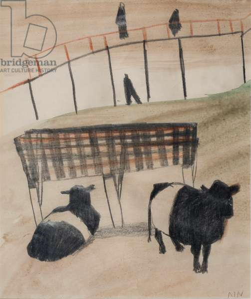 Cattle (w/c on paper)