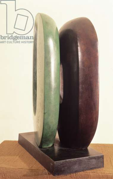 Dual Form by Barbara Hepworth (1903-75) 1965 (bronze)