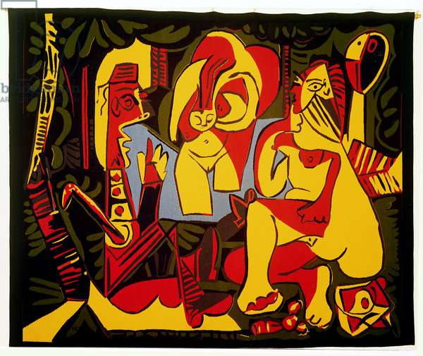 Lunch on the Grass, 1962 (linocut)