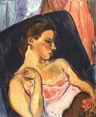 Portrait in a Blue Chair, 1936