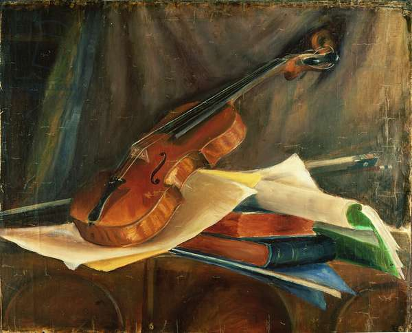 The Golden Violin, c.1898 (oil on canvas)