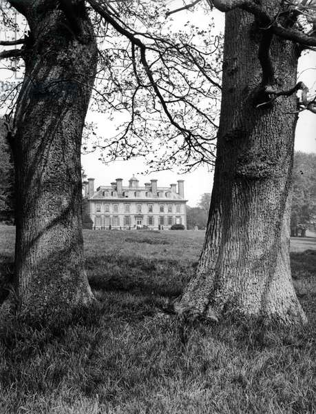Coleshill House, from England's Lost Houses' by Giles Worsley (1961-2006) published 2002 (b/w photo)
