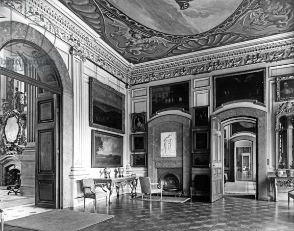 The Garden Hall, Castle Howard, North Yorkshire, from 'The English Country House' (b/w photo)
