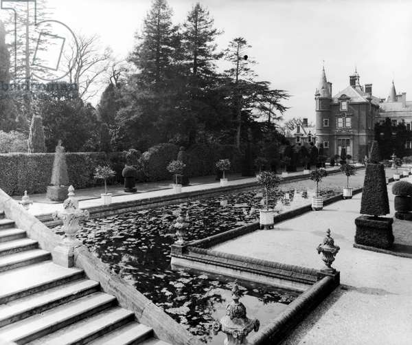Brockenhurst Park, from 'England's Lost Houses' by Giles Worsley (1961-2006) published 2002 (b/w photo)