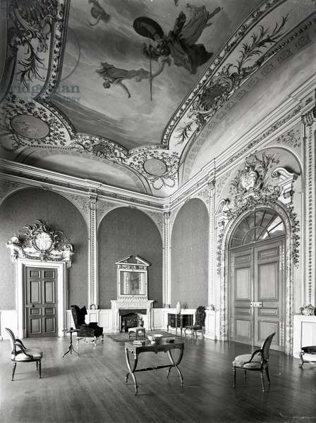 The High Saloon, Castle Howard, Yorkshire, from 'England's Lost Houses' by Giles Worsley (1961-2006) published 2002 (b/w photo)