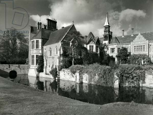 Madresfield Court, from '100 Favourite Houses' (b/w photo)