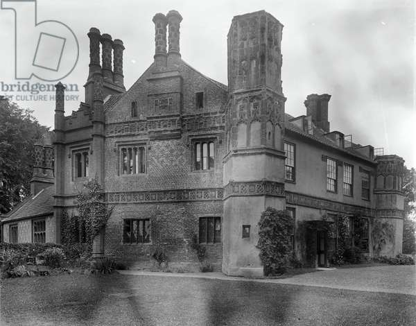 The Manor House (b/w photo)