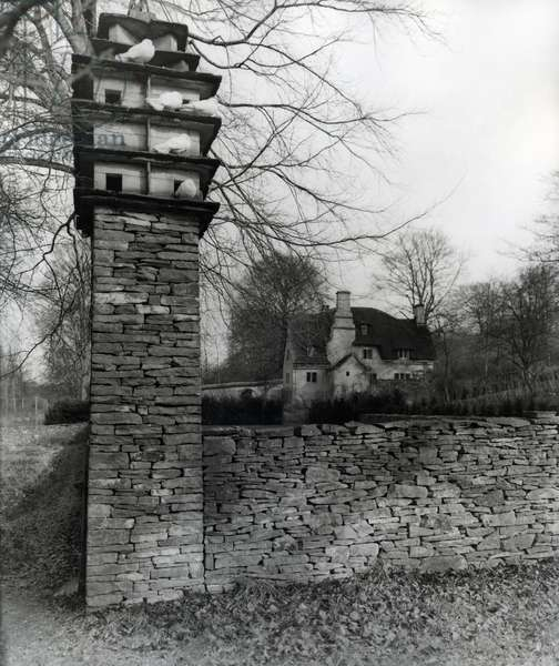 Mr Gimson's House, Sapperton, from 'The English Manor House' (b/w photo)