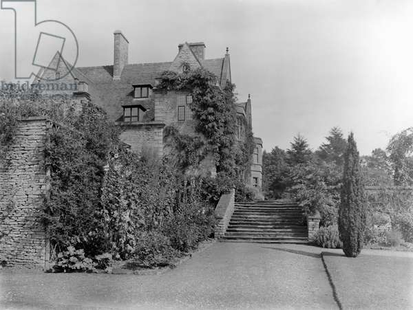 Abbotswood, from 'Country Houses of the Cotswolds' (b/w photo)
