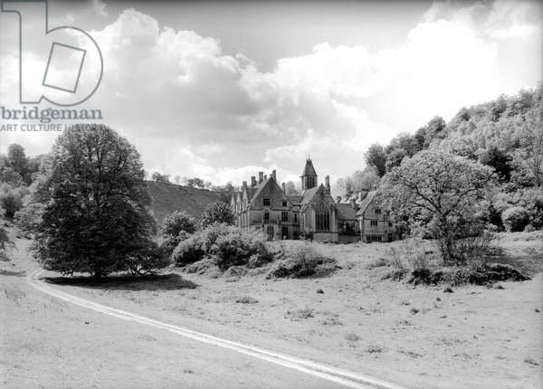 Woodchester Park, from 'Country Houses of the Cotswolds' (b/w photo)