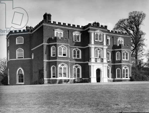 Marks Hall, from 'England's Lost Houses' by Giles Worsley (1961-2006) published 2002 (b/w photo)