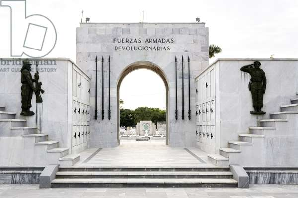 Monument to Armed Forces (marble and bronze)