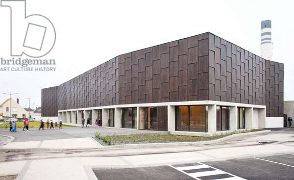 Gauguin-Matisse Gymnasium, Beau Marais, Calais, France (photo)