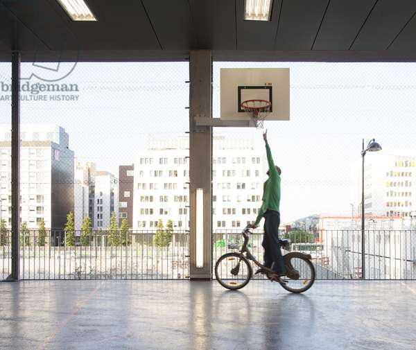 Student Housing, by Stéphane Maupin Architect, 13th Arrondissement, Paris, France (photo)