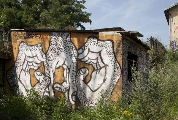 Zoo Project G.A.G., Gare du Pont de Flandre, 19th Arrondissment, Paris, France (photo)