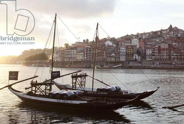 View of the Douro river, Porto, Portugal (photo)