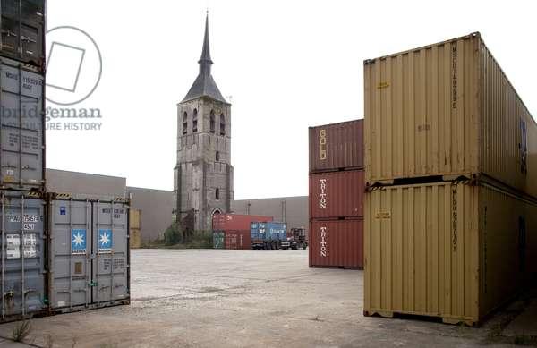 View of the Church of Wilmarsdonk, Antwerp, Belgium (photo)