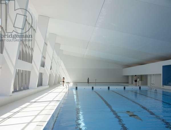 Swimming pool, Bagneux, Hauts-de-Seine, Paris, France (photo)
