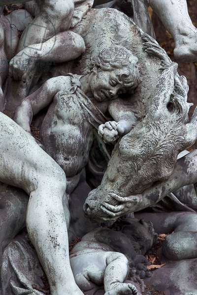 The triumph of Silenus, detail (bronze) (see also 252697 and 252668)
