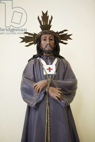 Healing Christ (coloured photo)