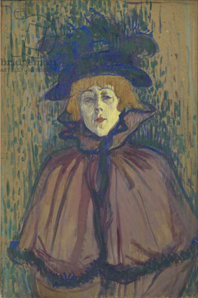 Jane Avril, 1891-92 (oil on board)