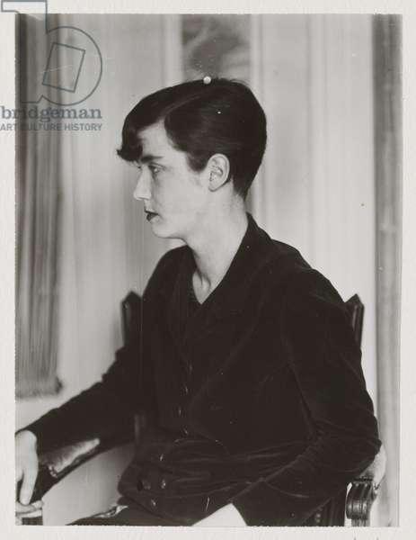 Portrait of Lucia Joyce (gelatin silver print)