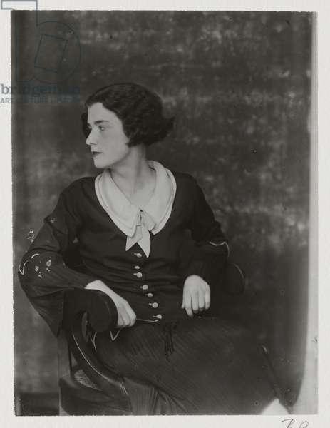 Portrait of Lucia Joyce, printed 1982 (gelatin silver print)