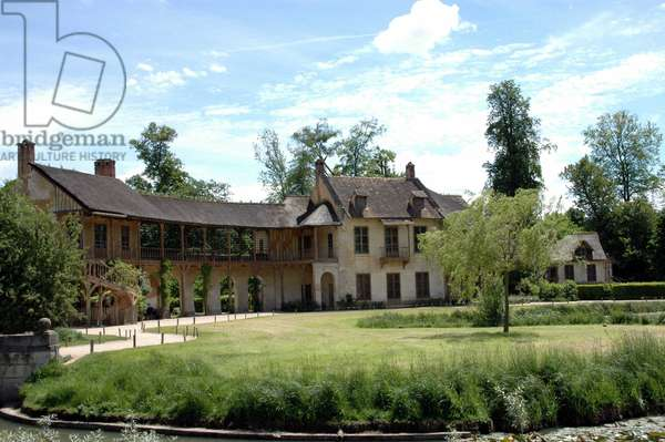 The Queen's House in the Hamlet of Queen Marie Antoinette, in the park of the Chateau de Versailles.