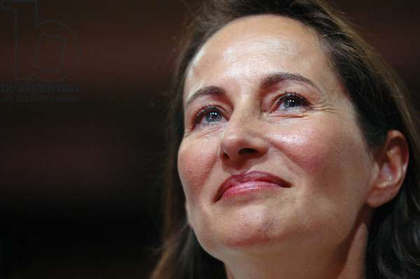 Segolene Royal has the Socialist Party National convention meeting at La Mutualite in Paris July 1, 2006.