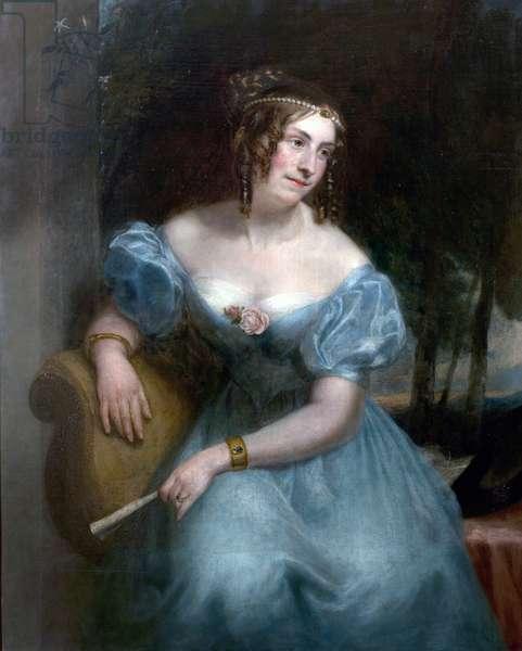 Countess Teresa Guiccioli (oil on canvas)