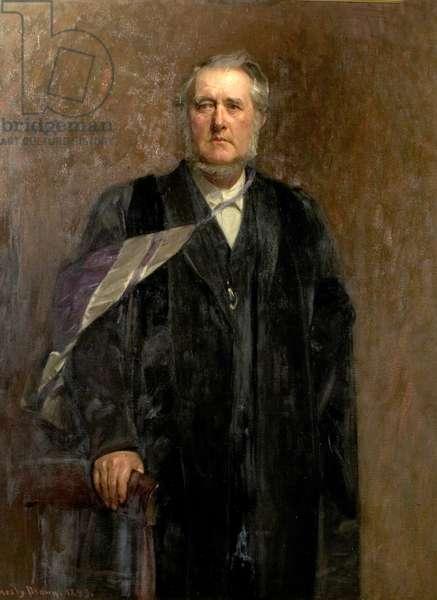 Dr John Brown Paton, 1899 (oil on canvas)