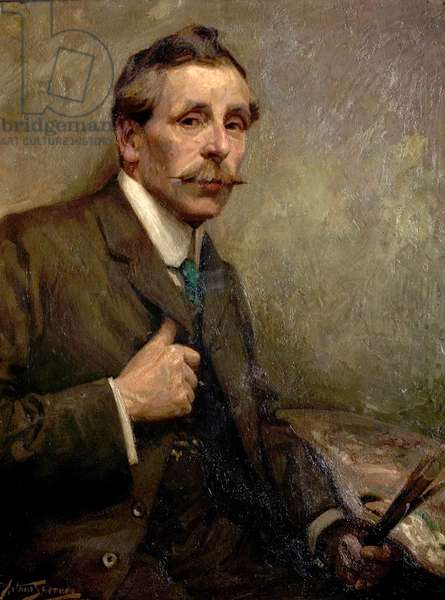 Reuben Arthur Moore, 1907 (oil on canvas)