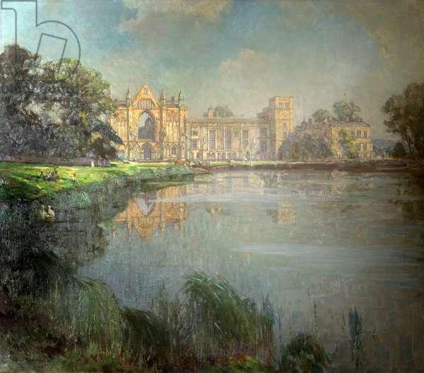 Newstead Abbey, Nottinghamshire, 1944 (oil on canvas)