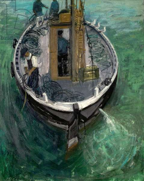 The 'Crissie Griggle', 1957 (oil on wood)