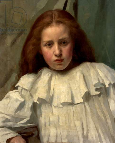 Girl in a White Dress, 1896 (oil on canvas)