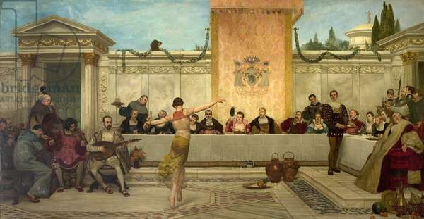 The Banquet, 1882 (oil on canvas)