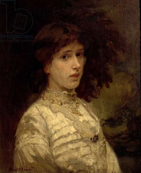 Mrs Rosamond Edith Thompson, 1904 (oil on canvas)