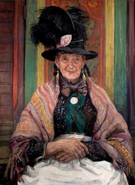 Gypsy Splendour, aka Fine Feathers, 1939 (oil on canvas)