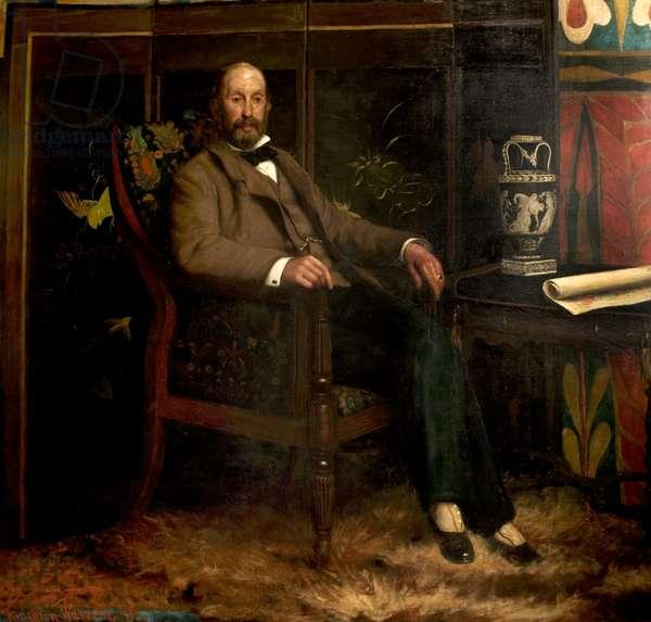 Felix Joseph, 1891 (oil on canvas)