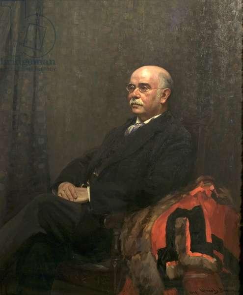 Sir Edward Henry Fraser, 1913 (oil on canvas)