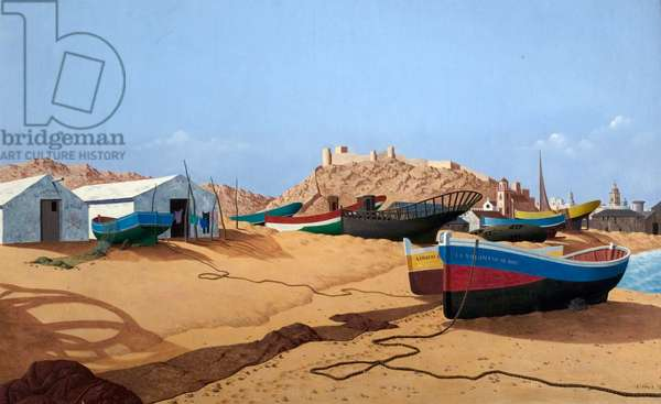 Almeria, Spain, 1951 (oil on canvas)