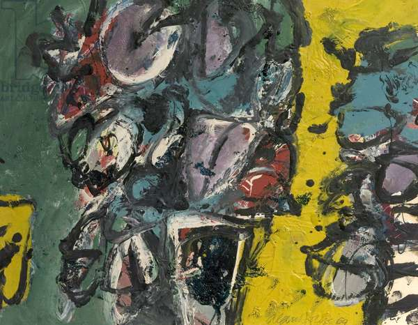 Bouquet for Couquet, 1959 (oil on board)